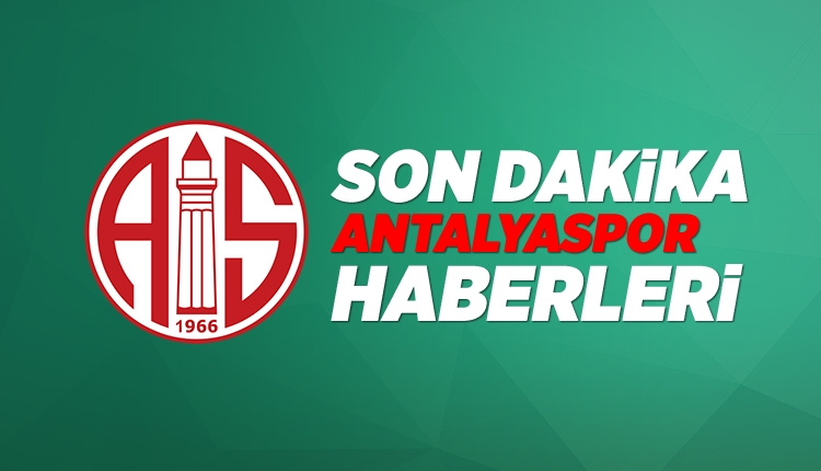 Son Dakika Antalya Haberleri: Antalyaspor'da yeni teknik direktör kim olacak? (8 Haziran 2018 Cuma)
