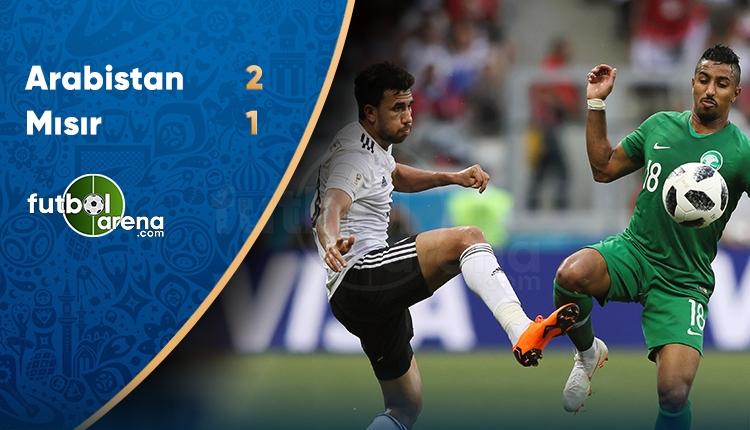Suudi Arabistan 2-1 Mısır maçı özeti ve golleri (İZLE)