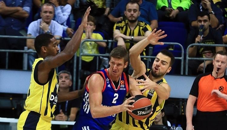 Tahincioğlu Basketbol Süper Ligi: Fenerbahçe Doğuş: 86 - TOFAŞ: 78