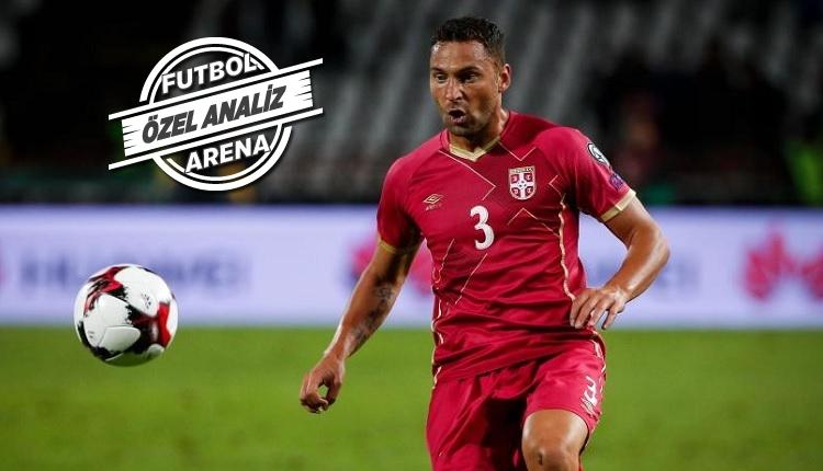 Tosic'ten Sırbistan - Kosta Rika maçında kusursuz performans