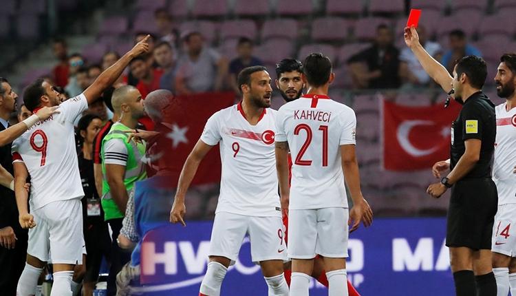 Türkiye-Tunus maçında Cenk Tosun çıldırdı!