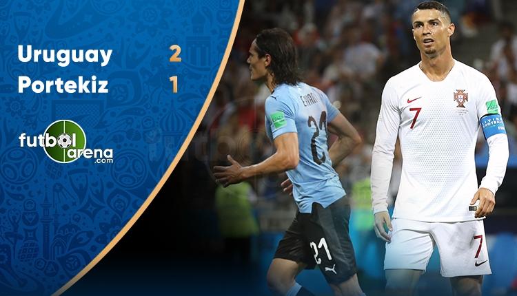 Uruguay 2-1 Portekiz maç özeti ve golleri (İZLE)