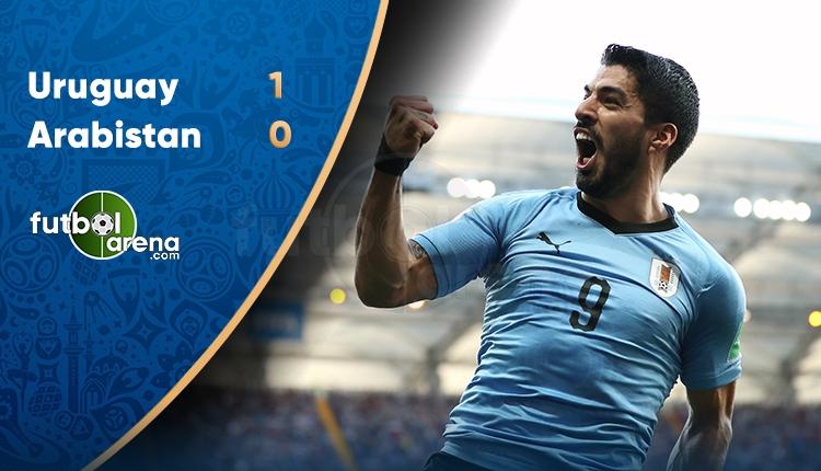 Uruguay 1-0 Suudi Arabistan maç sonucu ve özeti (İZLE)