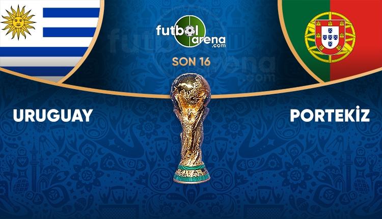 Uruguay Portekiz saat kaçta, hangi kanalda? (Portekiz Uruguay TRT 1 canlı şifresiz İZLE)