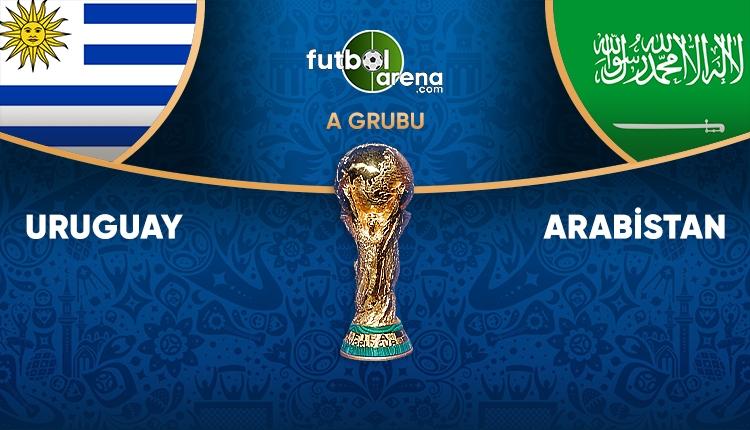 Uruguay - Suudi Arabistan saat kaçta, hangi kanalda? (Uruguay - Suudi Arabistan TRT 1 canlı şifresiz İZLE)