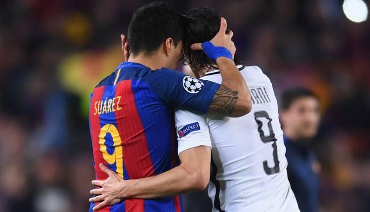 Uruguay'ın müthiş ikilisi Luis Suarez ve Edinson Cavani