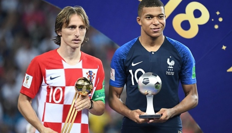 2018 Dünya Kupası en iyi oyuncuları seçildi