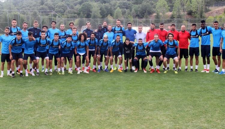 Adana Demirspor'da yeni transferler kampa katıldı