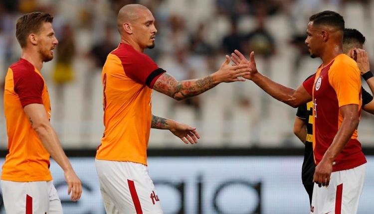 AEK 3-2 Galatasaray maç özeti ve golleri (İZLE)