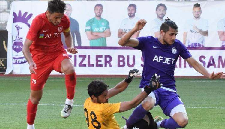 Afjet Afyonspor 5 - 0 Balıkesirspor Baltok maç özeti ve golleri (İZLE)