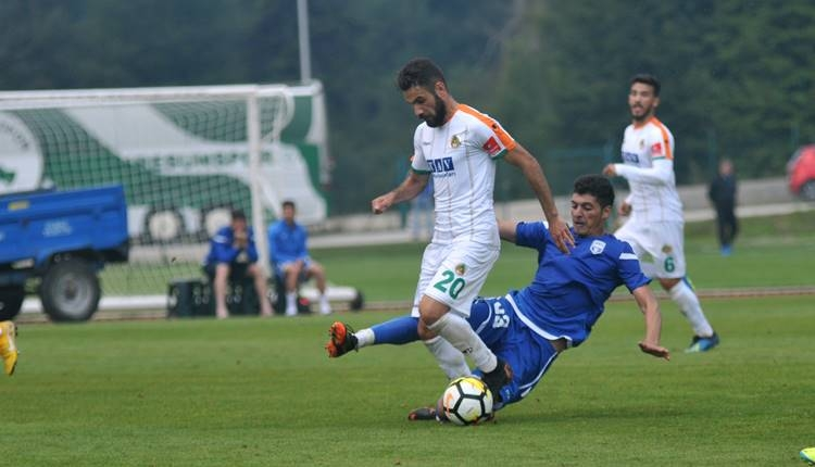 Alanyaspor 1-1 FK Sabah maçı özeti ve golleri