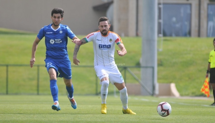 Alanyaspor'dan Azerbaycan ekibine 7 gol birden(Alanyaspor, Sumqayıt özet)