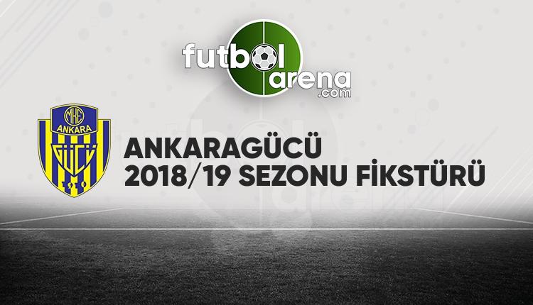Ankaragücü'nün fikstürü açıklandı! (Ankaragücü 2018/2019 maçları - Ankaragücü fikstür)