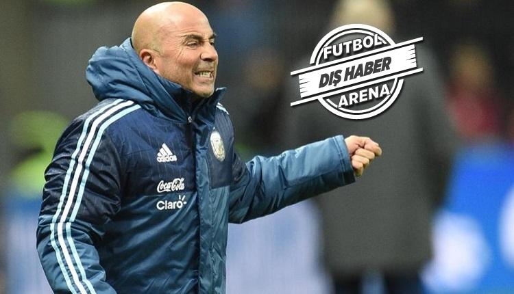 Arjantin Teknik Direktörü Jorge Sampaoli istifa etti