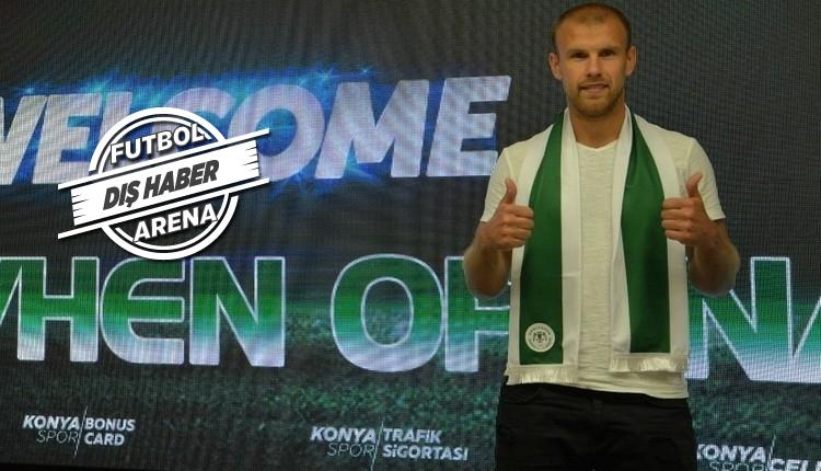 Atiker Konyaspor'un Evgeny Opanasenko transferinde usulsüzlük iddiası