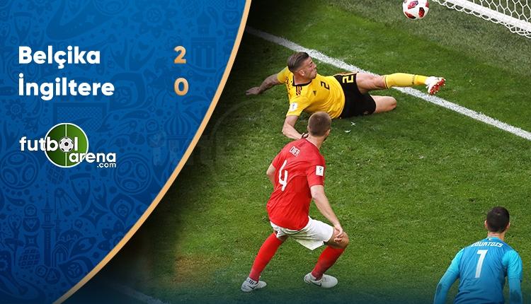 Belçika 2-0 İngiltere maç özeti ve golleri (İZLE)