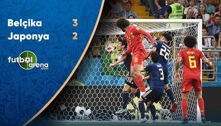 Belçika 3-2 Japonya maçı özeti ve golleri (İZLE)