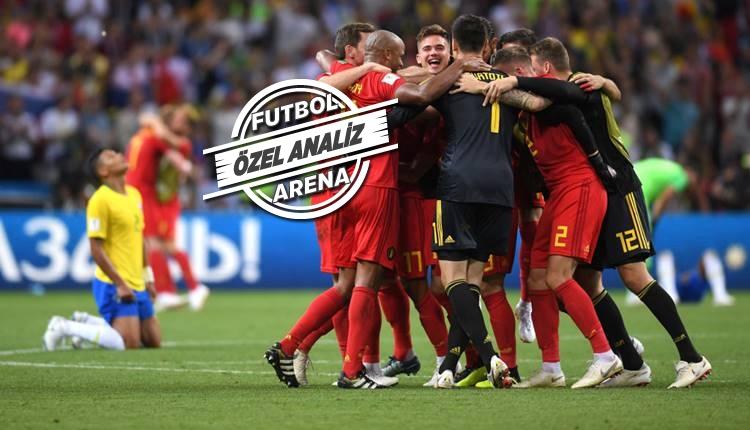 Brezilya - Belçika maçı hikayesi:
