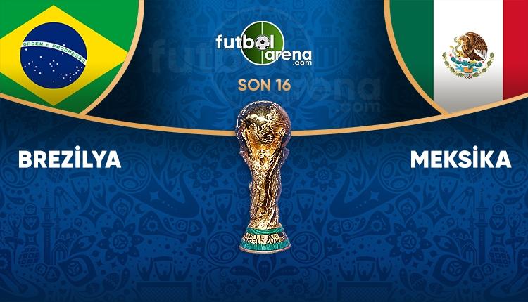 Brezilya - Meksika saat kaçta, hangi kanalda? (Brezilya - Meksika TRT 1 canlı şifresiz İZLE)