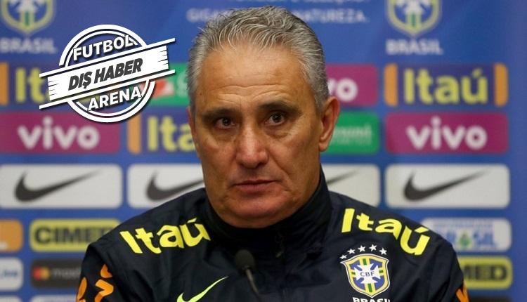 Brezilya Teknik Direktörü Tite'den istifa açıklaması