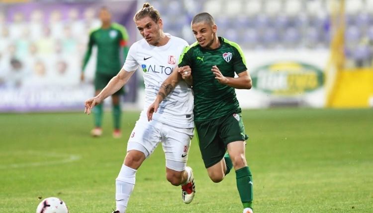 Bursaspor 0-1 Balıkersirspor maç özeti ve golleri (İZLE)