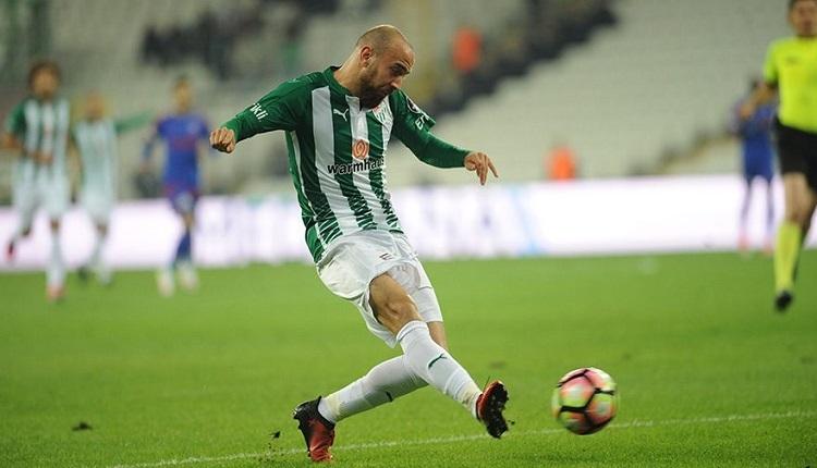 Bursaspor'da Sercan Yıldırım'ın sözleşmesi feshedildi