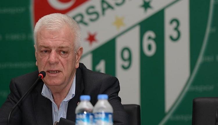 Bursaspor'dan Harun Tekin açıklaması: