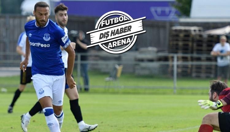 Cenk Tosun Everton - ATV Irdning hazırlık maçında 4 gol attı