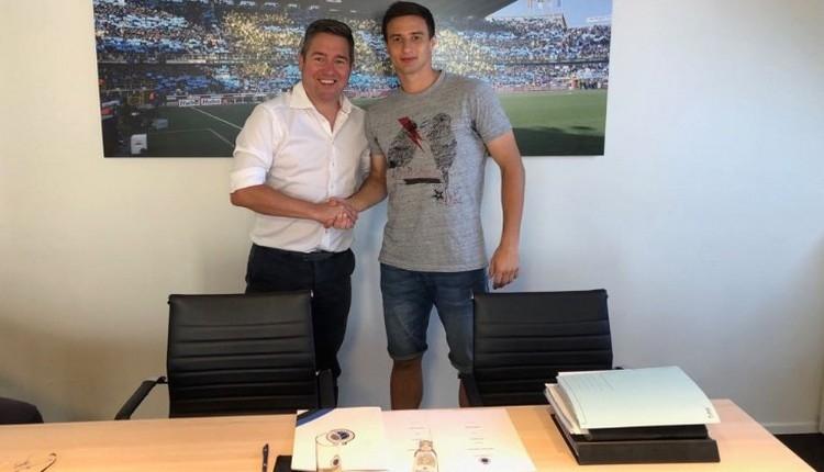 Club Brugge, Matej Mitrovic transferini açıkladı