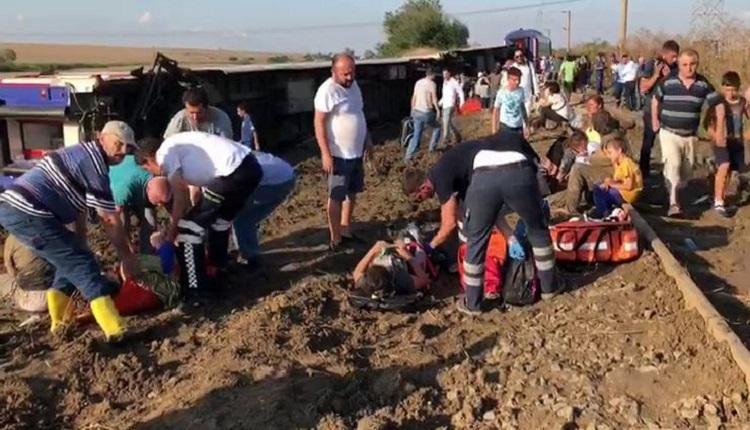 Çorlu'dan tren kazası kaç kişi öldü? Tekirdağ-Çorlu tren kazası son dakika - Edirne Sarılar tren kazasında ölü sayısı kaç? Uzunköprü tren kazası yaralı ve ölü sayısı
