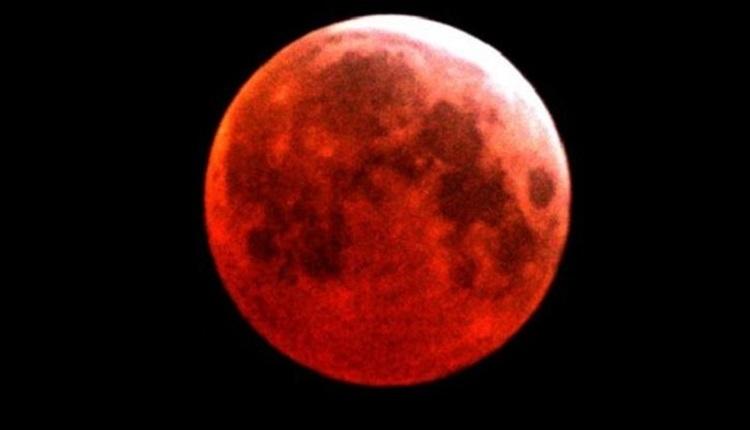 Diyarbakır ay tutulması İZLE (Diyarbakır kanlı ay tutulması saat kaçta?)