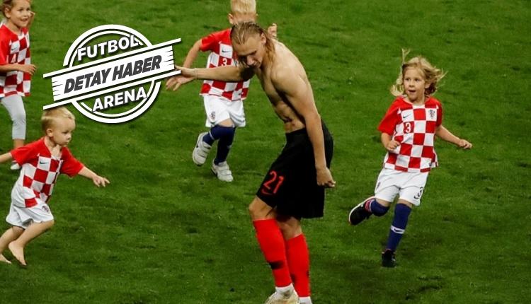 Domagoj Vida'dan Hırvatistan - İngiltere maçında sağlam performans