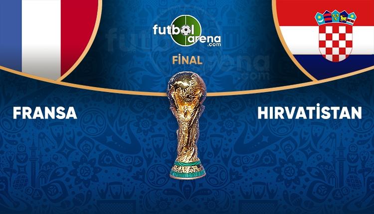 Dünya Kupası Fransa - Hırvatistan İddaa maç tahmini