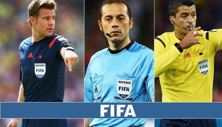 Dünya Kupası'nda çeyrek final maçlarının hakemleri belli oldu