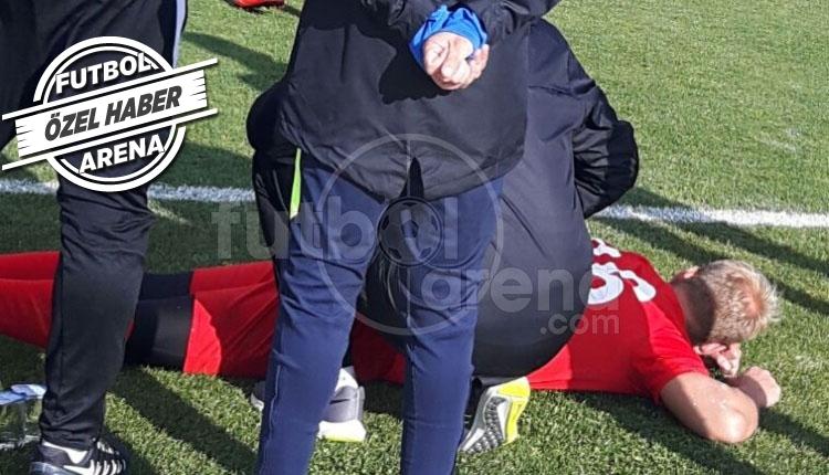Erzurumspor'da Hakan Canbazoğlu, Sepehan maçında sakatlandı