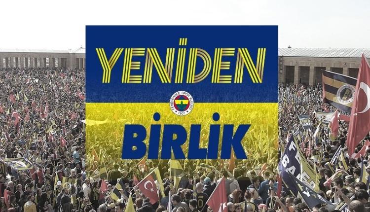 Fenerbahçe Kulübünden yeni slogan: ''Yeniden''