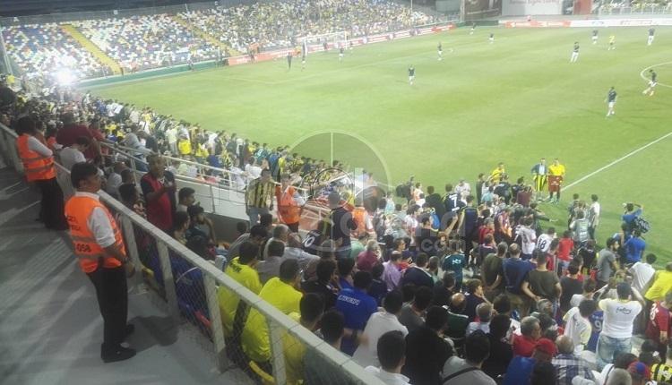 Fenerbahçe taraftarlarından Altınordu maçında Aziz Yıldırım'a protesto