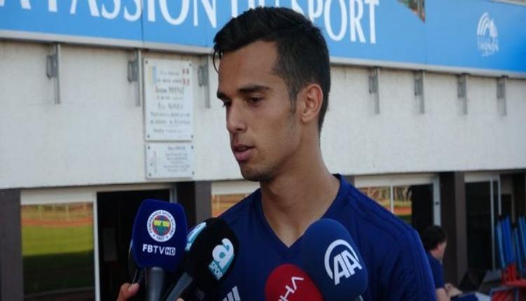 Fenerbahçe'de Barış Alıcı: ''Umarım kimsenin yüzünü kara çıkartmam!''