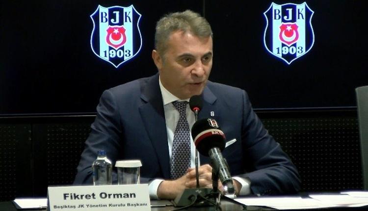 Fikret Orman'dan Mertcan Çam itirafı:'Sözleşmesini feshettik'