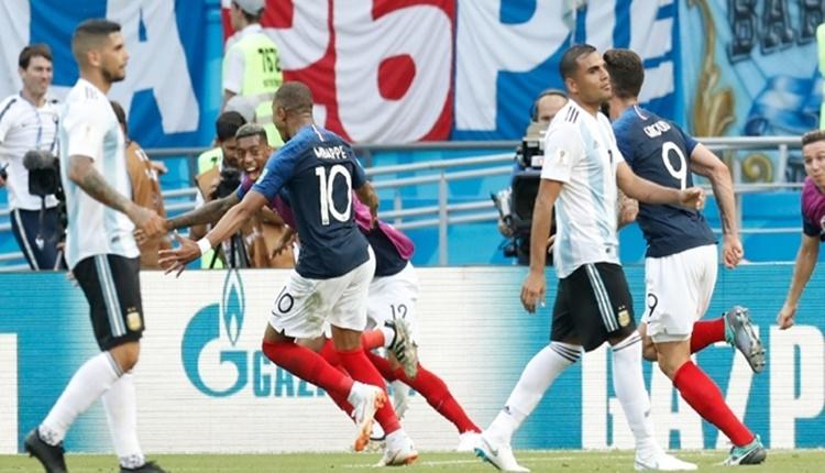 Fransa - Arjantin maçının hikayesi; Süperman Mbappe