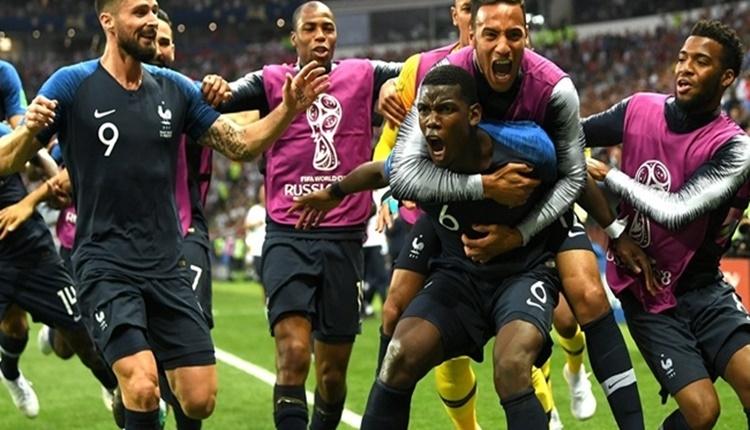 Fransa - Hırvatistan maçının hikayesi; Pozisyonsuz şampiyon