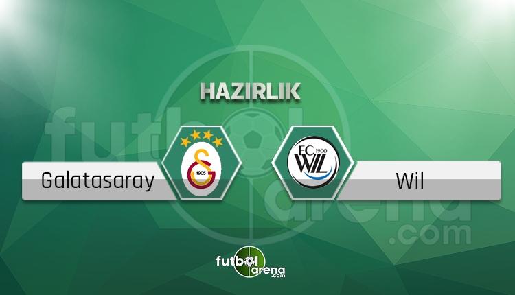 Galatasaray'ın Wil maçı 11'i belli oldu! Sürpriz tercih (GS Wil CANLI İZLE)