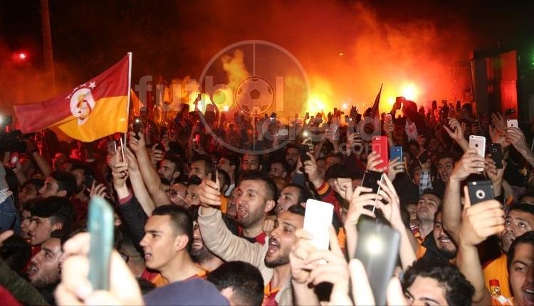 Galatasaray'a İsviçre'de çoşkulu karşılama