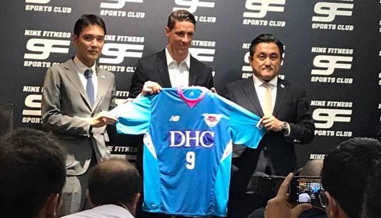 Galatasaray'a yazılan Fernando Torres, Japonya'ya transfer oldu