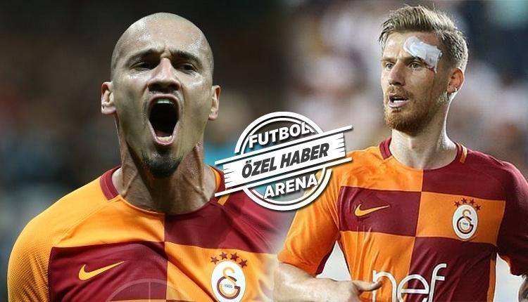Galatasaray'da 4 futbolcudan iyi haber