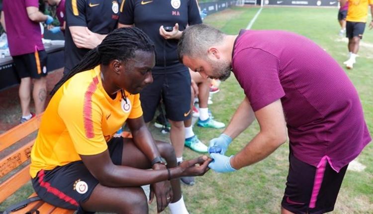 Galatasaray'da dayanıklılık testi yapıldı (Galatasaray'ın yeni sezon kamp çalışmaları)