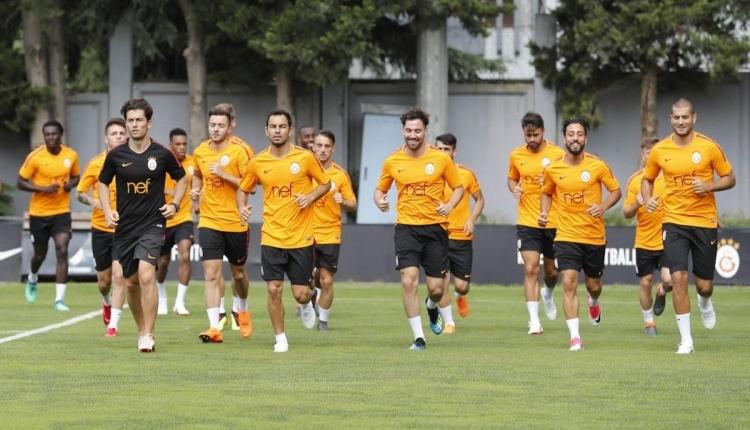 Galatasaray'ın İsviçre kampı tamamlandı (Galatasaray kamp çalışmaları)