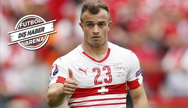 Galatasaray'ın Shaqiri transferinde Manchester United rakip