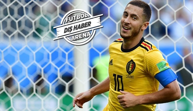 Hazard Real Madrid'e transferi için göz kırptı