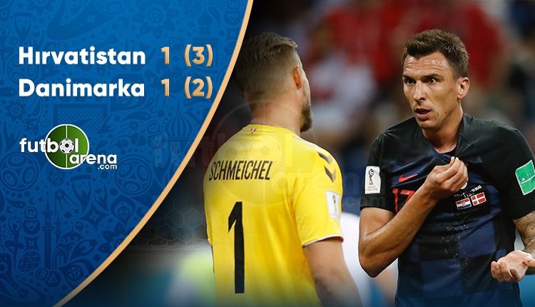 Hırvatistan çeyrek finalde! Hırvatistan 3-2 Danimarka maç özeti ve golleri (İZLE)